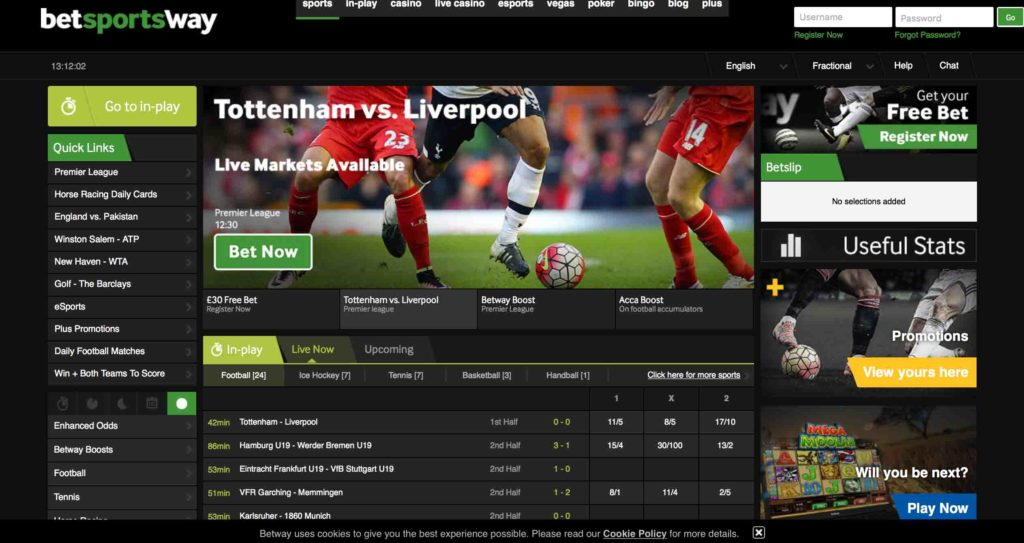 Betway Betting Site Review - Best Betting Sites UK