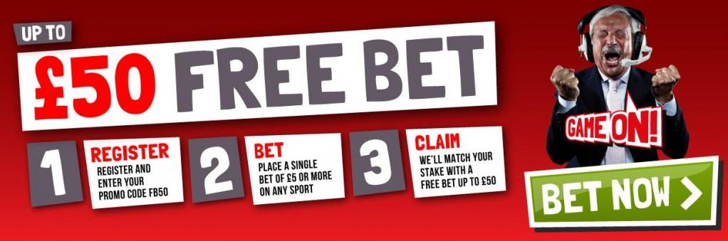 free bets at Ladbrokes
